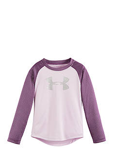 Under Armour Checkpoint Shimmer Raglan Shirt Toddler Girls