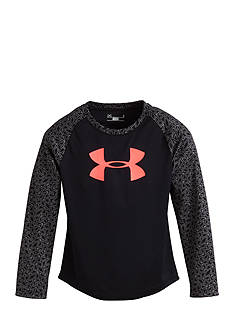 Under Armour Chain Grid Raglan Shirt Toddler Girls