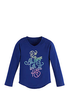 Under Armour Do Things With Heart Long Sleeve Top Toddler Girls