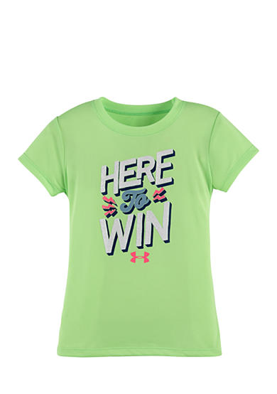 Under Armour® Here To Win Tee Toddler Girls