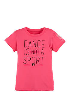Under Armour® Dance Is Not A Sport Tee Toddler Girls