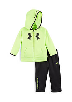 Under Armour 2-Piece Big Logo Hoodie and Pant Set Toddler Boys