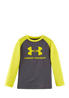 Under Armour Long Sleeve Raglan Big Logo Tee Toddler Boys