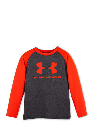 Under Armour® Core Branded Long Sleeve Raglan Tee Toddler Boys