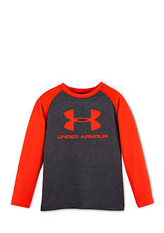 Under Armour Core Branded Long Sleeve Raglan Tee Toddler Boys