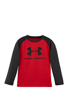 Under Armour Raglan Core Branded Long Sleeve Tee Toddler Boys