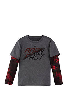 Under Armour Born Fast Layered Tee Toddler Boys