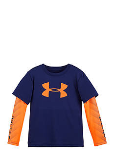 Under Armour Big Logo Power Slider Tee Toddler Boys