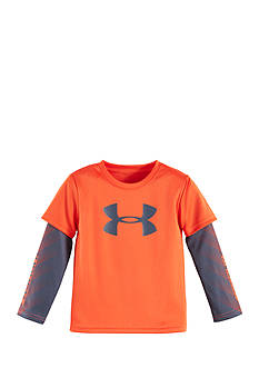 Under Armour Big Logo Power Layered Tee Toddler Boys
