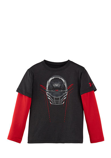 Under Armour® Long Sleeve Helmet Tee Toddler Boys