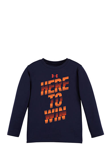 Under Armour® Here to Win Long Sleeve Tee Toddler Boys