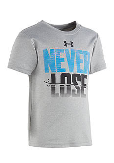 Under Armour® Never Lose Tee Toddler Boys