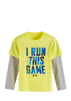 Under Armour 'I Run This Game' Shirt Toddler Boys