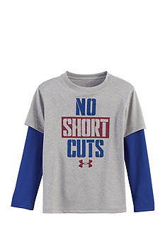 Under Armour 'No Short Cuts' Layered Tee Toddler Boys