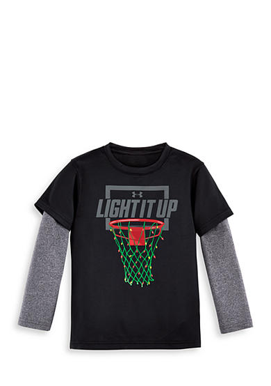 Under Armour® 'Light It Up' Layered Tee Toddler Boys