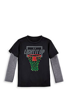 Under Armour 'Light It Up' Layered Tee Toddler Boys
