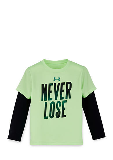 Under Armour® Never Lose Slider Tee Toddler Boys