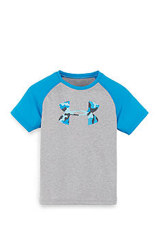 Under Armour Big Logo Raglan Short Sleeve Tee Toddler Boys