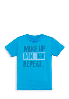 Under Armour Wake Up Win Repeat Short Sleeve Tee Toddler Boys