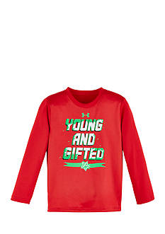 Under Armour® 'Young And Gifted' Long Sleeve Tee Toddler Boys