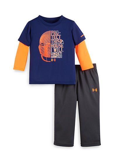 Under Armour® 2-Piece 'Protect This House' Tee and Pants Set