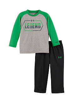 Under Armour 2-Piece Long Sleeve 'Legend' Tee and Pant Set