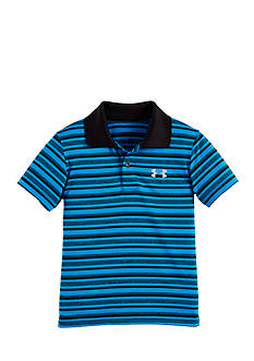 Under Armour Stripe Collared Short Sleeve Tee