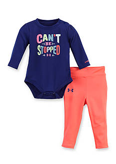 Under Armour 2-Piece 'Can't Be Stopped' Bodysuit and Pants Set