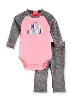 Under Armour® 2-Piece Long Sleeve Bodysuit and Pants Set