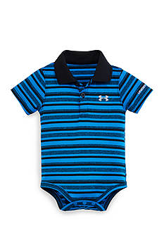 Under Armour Yarn Dye Stripe Polo Bodysuit