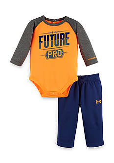 Under Armour® 2-Piece 'Future Pro' Bodysuit and Pants Set