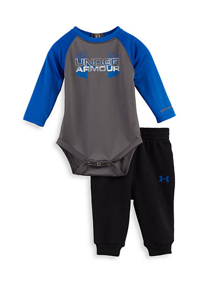 Under Armour® Big Logo Hybrid Raglan Set