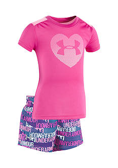 Under Armour 2-Piece UA Heart Shirt and Short Set