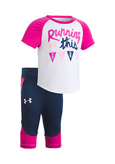 Under Armour 'Running This Game' Capri Pants Set