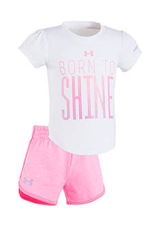 Under Armour 2-Piece 'Born To Shine' Short Set