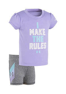 Under Armour® 2-Piece 'Make The Rules' Short Set