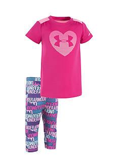 Under Armour Heart Capri Pants Set