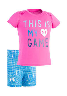 Under Armour® 2-Piece This Is My Game Shirt and Shorts Set