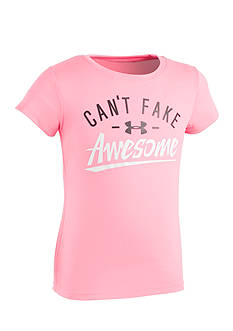 Under Armour 'Can't Fake Awesomeness' Graphic Tee Toddler Girls
