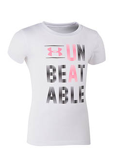 Under Armour 'Unbeatable' Tee Toddler Girls