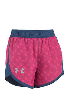 Under Armour® Logo Short Toddler Girls