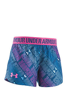 Under Armour Wordmark Play Up Short Toddler Girls