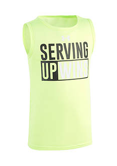 Under Armour® 'Serving Up Wins' Tank Toddler Boys