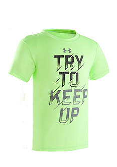 Under Armour® 'Try To Keep Up' Tee Toddler Boys