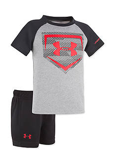 Under Armour® 2-Piece Homerun Raglan Set