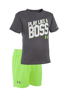 Under Armour 2-Piece 'Play Like A Boss' Tee and Short Set