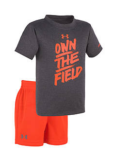 Under Armour® 2-Piece 'Own The Field' Shirt and Short Set