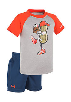 Under Armour® 2-Piece Peanut Pitcher Shirt and Short Set