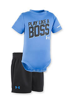 Under Armour® 2-Piece 'Play Like A Boss' Bodysuit and Short Set