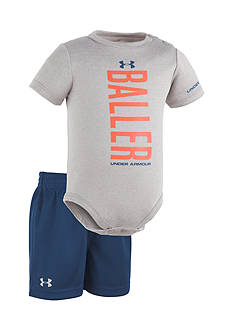 Under Armour® 2-Piece 'Baller' Bodysuit and Short Set
